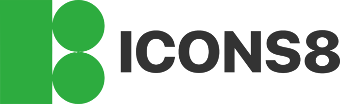 Icons8 Logo full