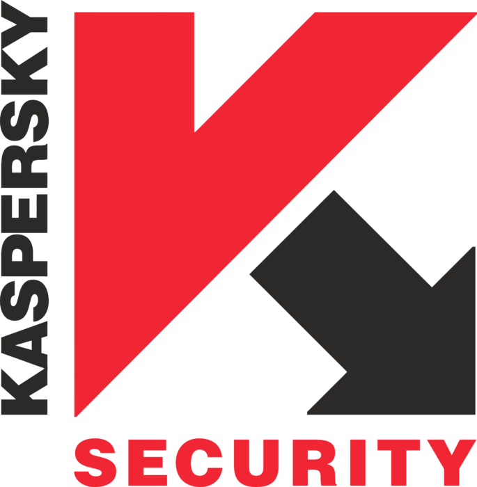 Kaspersky Anti Virus Logo old red&black