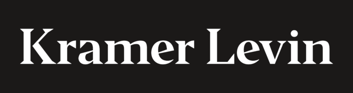 Kramer Levin Logo white text