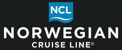 Norwegian Cruise Line Logo white text