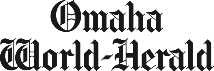 Omaha World Herald Logo black