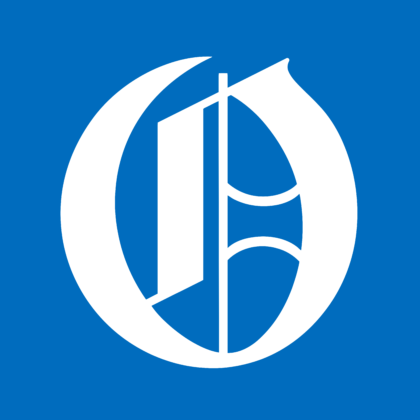 Omaha World Herald Logo blue