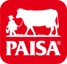 Paisa Logo red background