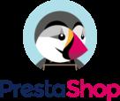 PrestaShop Logo vertically