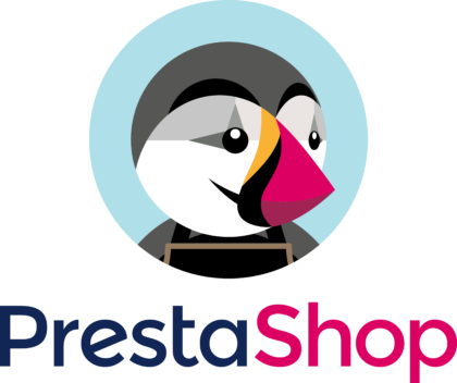 PrestaShop Logo vertically
