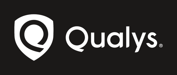 Qualys Logo black