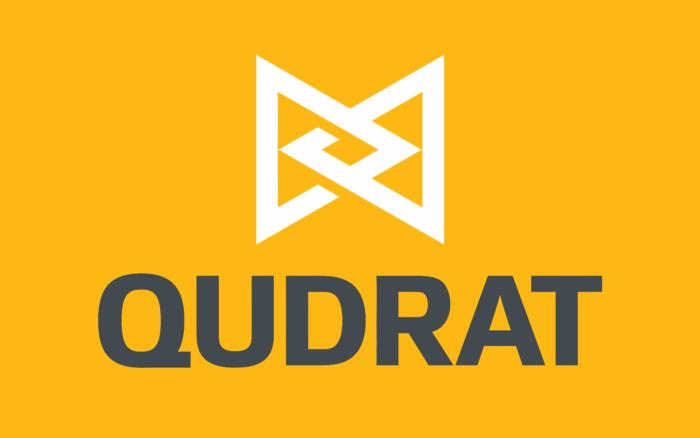 Qudrat Logo yellow background