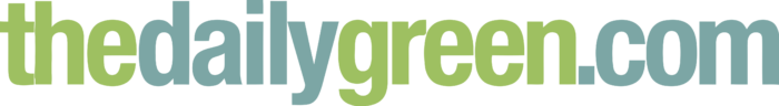 The Daily Green Logo text