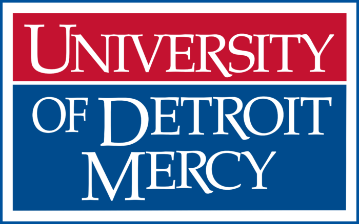 University of Detroit Mercy Logo text