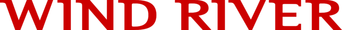 Wind River Systems Logo red text