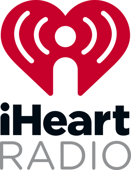 iHeartRadio Logo vertically