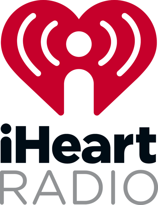 iHeartRadio Logo vertically