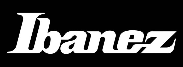 Ibanez Logo white text