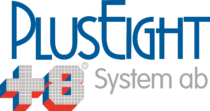 PlusEight System AB Logo