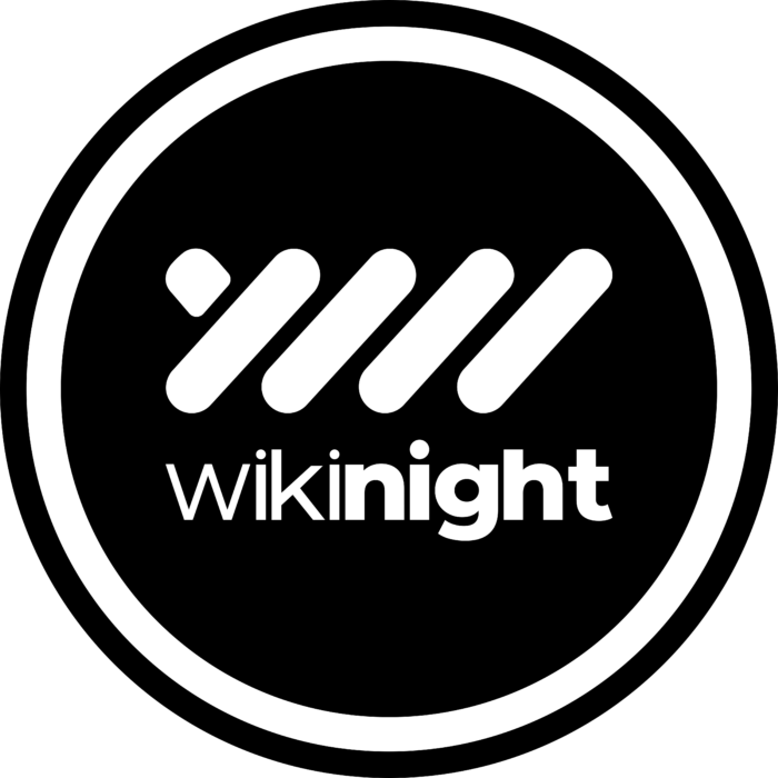 Wikinight Logo black