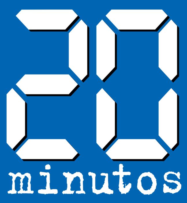 20 Minutos Logo old