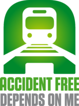 Accident Free Depends On Me Logo