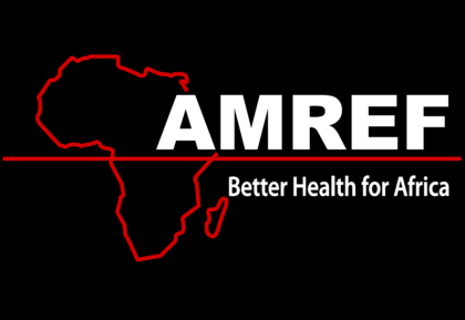 African Medical and Research Foundation Logo black