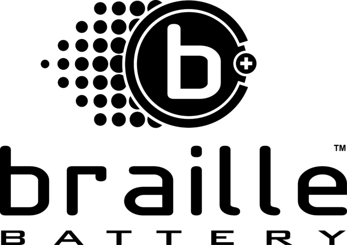 Braille Battery Logo