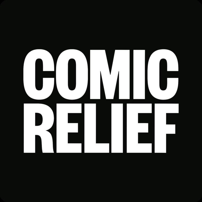 Comic Relief Logo black