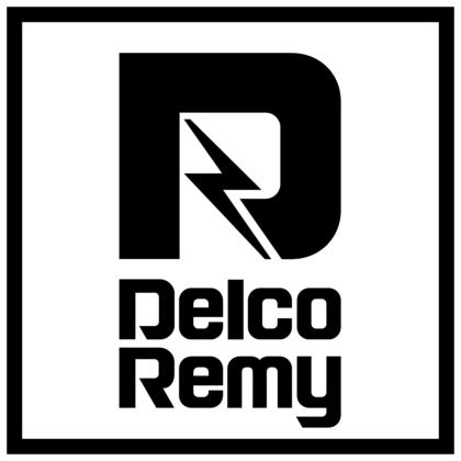 Delco Remy Logo black