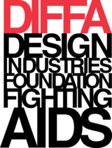 Design Industries Foundation Fighting AIDS Logo