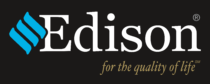 Edison Electric Corp Logo black