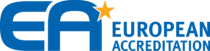 European co operation for Accreditation Logo