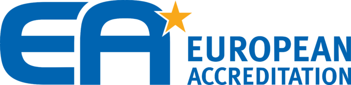 European co operation for Accreditation Logo