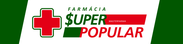 Farmácia Super Popular Logo
