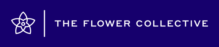 For The Flower Collective Logo horizontally
