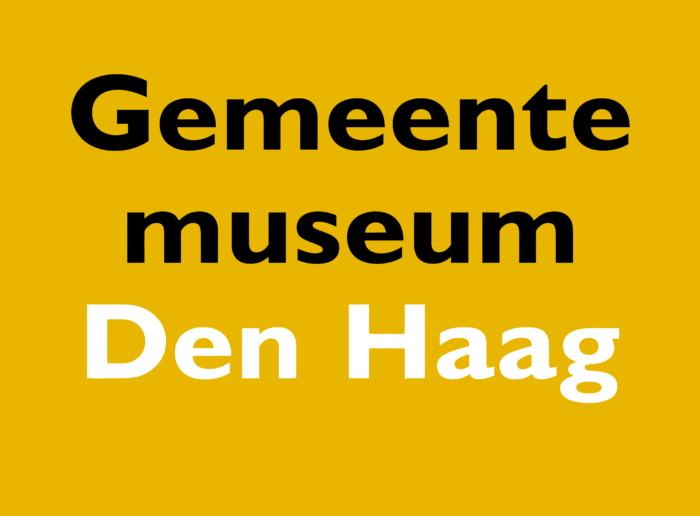 Gemeente Museum Den Haag Logo old