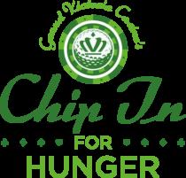 Grand Victoria Casino Chip In for Hunger Logo