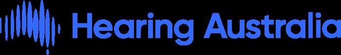 Hearing Australia Logo horizontally