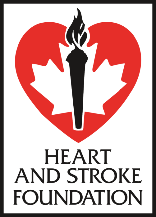 Heart And Stroke Foundation Logo old vertically