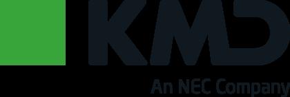 KMD, An NEC Company Logo