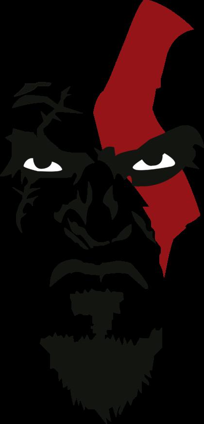 Kratos God of War Logo 2
