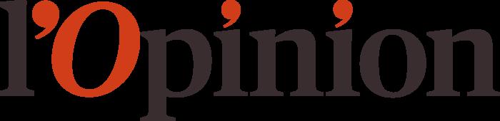 L'Opinion Logo full