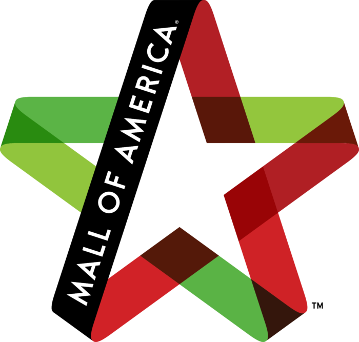 Mall of America Logo red&green