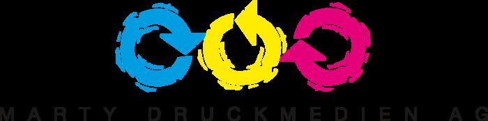 Marty Druckmedien AG Logo full