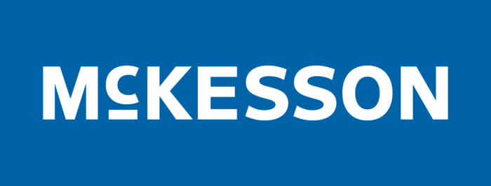 McKesson Corporation Logo white text