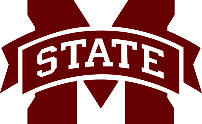 Mississippi State University Logo red