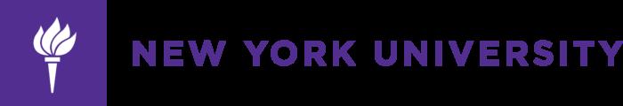 New York University Logo full