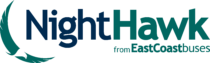 NightHawk from East Coast Buses Logo