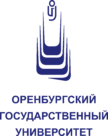 Orenburg State University Logo full