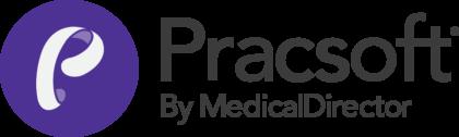 Pracsoft by MedicalDirector Logo