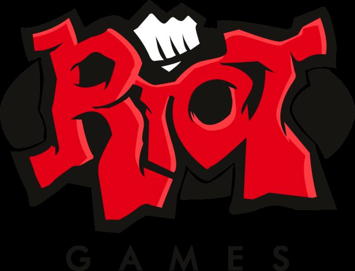 Riot Games Logo black background