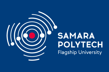 Samara State Technical University Logo eng