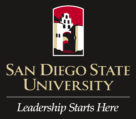 San Diego State University Logo black