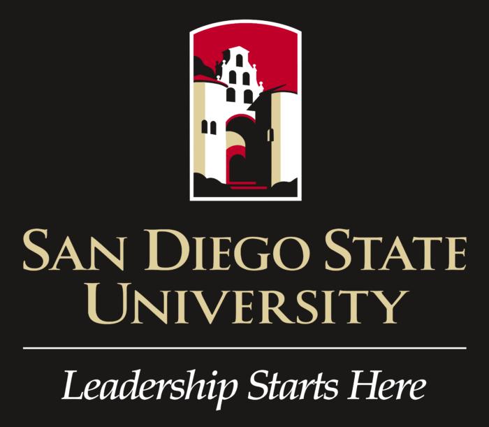 San Diego State University Logo black